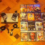 Sony Play Station 2, 2 controllere, card memorie 32 mb 15 jocuri