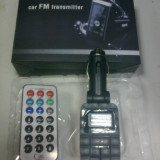 Modulator Fm cu telecomanda !