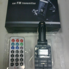 Modulator Fm cu telecomanda ! - Modulator FM auto