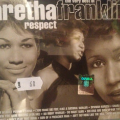 ARETHA FRANKLIN - RESPECT-THE VERY BEST OF(2cd BOX) - 2003/WARNER cd nou/sigilat - Muzica Rock