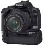 Canon Eos 400D - DSLR Canon, Kit (cu obiectiv), 10 Mpx, Full HD
