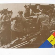 CARTE POSTALA ARMATA ROMANA IN CEL DE-AL 2-LEA RAZBOI MONDIAL 1941-1945, Necirculata, Ambele, Romania de la 1950