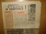 ZIARUL SPORTUL SUPLIMENT FOTBAL  ANUL 1988   STEAUA IN SEMIFINALE!