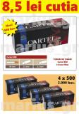 CARTEL 500 - Pachet 4 cutii tuburi de tigari x 500 buc pentru injectat tutun