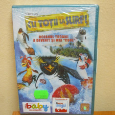 CU TOTII LA SURF! (SURF`S UP ) (DVD) SIGILAT!!! desene animate - Film animatie, Romana