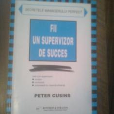 FII UN SUPERVIZOR DE SUCCES DE PETER CUSINS, GRUP DE EDITURA SI CONSULTANTA IN AFACERI 1999, STARE BUNA - Carte Management