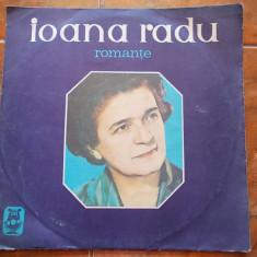 IOANA RADU - ROMANTE . - Muzica Populara, VINIL