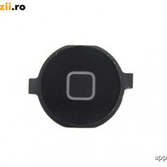 Buton Home Apple iPhone 4 Black Original