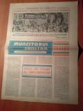 ziarul muncitorul sanitar 23 august 1980-sarbatoarea nationala a poporului roman