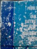 Cumpara ieftin M.Rosculet, O.Popescu - Probleme de analiza matematica pentru concursurile de admitere in invatamantul superior