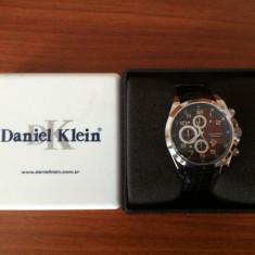 Ceas Daniel Klein Barbatesc Fashion Style - Ceas barbatesc Daniel Klein, Quartz, Piele ecologica, Analog