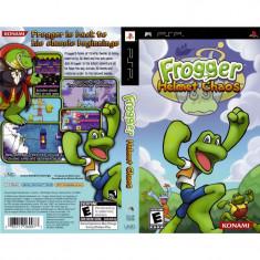 Joc PSP Frogger Helmet Chaos (3+) Wireless Comp 2-4P (transport gratuit la comanda de 3 jocuri diferite) - Jocuri PSP Sony, Arcade, Toate varstele, Multiplayer