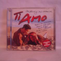 Vand dublu-cd Ti Amo, selectie italieneasca, original - Muzica Pop ariola