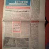 Ziarul muncitorul sanitar 12 iulie 1980 (15 ani de la congresul al 9-lea al p.c.r. )