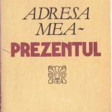 ADRESA MEA - PREZENTUL de CORIOLAN PAUNESCU - Nuvela