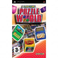 Joc PSP Puzzle World Capcom (6+) Wireless Comp 2P (transport gratuit la comanda de 3 jocuri diferite) - Jocuri PSP Capcom, Arcade, 3+, Multiplayer