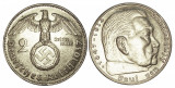 GERMANIA 2 MARK 1937 ARGINT XF, Europa