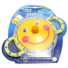 Jucarie dentitie Tommee Tippee Explora Smiley Face bebelusi 0 luni + unisex - Jucarie dentitie copii, Multicolor, Plastic