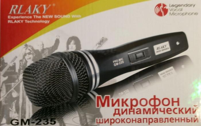Microfon profesional RLAKY GM 235/ Microfon pentru karaoke / Microfon pentru prezentare spectacole / Microfon pentru scena