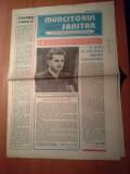 ziarul muncitorul sanitar 19 iulie 1980-15 ani ceausescu este prim secretar PCR