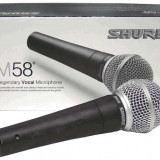 Microfon Shure SM58 pentru karaoke prezentare spectacole  scena