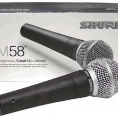 Microfon Shure SM58 pentru karaoke prezentare spectacole  scena, Shure Incorporated