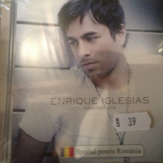 ENRIQUE IGLESIAS - GREATEST HITS (2008 /universal music/UK) - cd nou/sigilat - Muzica Pop Altele