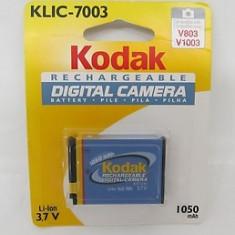 Baterie KODAK KLIC-7003 originala, pentru camera foto - Baterie Aparat foto