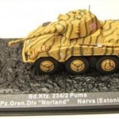 Macheta tanc Puma Narva - Estonia - 1944 scara 1:72 - Macheta auto
