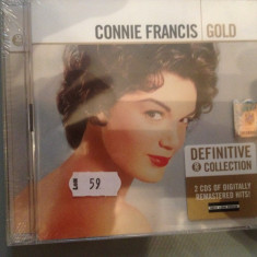 CONNIE FRANCIS - GOLD - 2CD SETBOX - (2006/UNIVERSAL MUSIC /UK) - CD NOU/SIGILAT, universal records