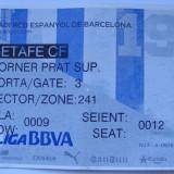 BILET ESPANYOL BARCELONA- GETAFE
