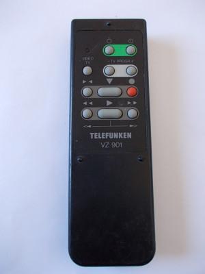 TELECOMANDA  TELEFUNKEN  VZ 901 , ORIGINALA ! foto