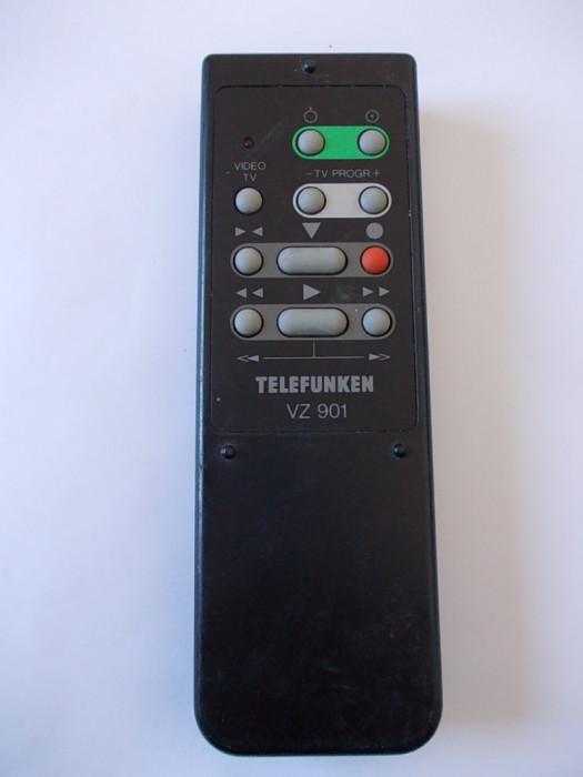 TELECOMANDA  TELEFUNKEN  VZ 901 , ORIGINALA !