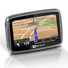 GPS Sistem de navigatie Serioux GlobalTrotter HD 7510GT2 I GO TRANSMITER FM PE BOXE AUTO, 5 inch, Toata Europa
