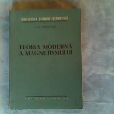 Teoria moderna a magnetismului-S.V.Vonsovski - Carte Fizica