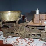 Balanta cu taler GARAI fabricat la ARAD ( 1924-1948 ) - Cantar/Balanta