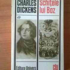 n4  Charles Dickens - Schitele lui Boz