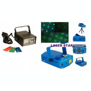 SET LUMINI DISCO, LASER ROSU+ VERDE SI STROBOSCOP DISCO 150 WATT FLASH URI AJUSTABILE.