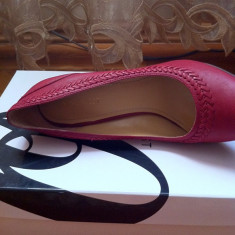 Vand patofi rosii, Nine West - Pantof dama Nine West, Culoare: Rosu, Marime: 37, Rosu, Cu toc