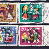 Timbre GERMANIA 1964 - FABULE SI BASME DE FRATII GRIMM - Timbre straine