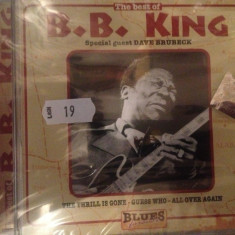 B B KING - THE BEST OF (2001) with special guest Dave Brubeck - CD NOU/SIGILAT