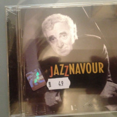 CHARLES AZNAVOUR - JAZZNAVOUR (1998/EMI REC/ made in FRANCE) cd nou/sigilat, emi records