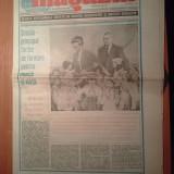 Ziarul magazin 24 iunie 1989 (ziua pionerilor si 40 de ani de la crearea organizatiei pionerilor )