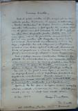 Cumpara ieftin Scrisoare olografa a scriitorului George Dumitrescu , 1953