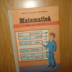 CARTE MATEMATICA CL.A-II-a ANUL 1986