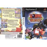 Joc original PS2 Worms Blast (3+) English 1 or 2 players (transport gratuit la comanda de 3 jocuri diferite), Arcade, 3+, Multiplayer, Ubisoft