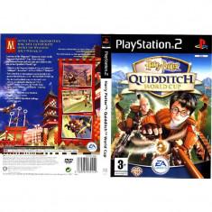Joc original PS2 Harry Potter Quidditch World Cup (3+) English 1-2 players (transport gratuit la comanda de 3 jocuri diferite), Actiune, 3+, Multiplayer, Ea Games