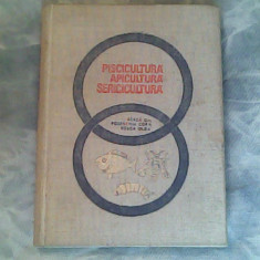 Piscicultura, apicultura, sericultura-Barca Gh, Rosenthal Cora, Rosca Olga - Carti Zootehnie