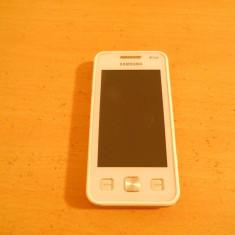 Vand dual-sim Samsung Duos C6712 alb + card 4 GB + husa piele - Telefon Samsung, Neblocat, 32 MB