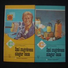 LUCA GHERASIM - IMI ZUGRAVESC SINGUR CASA 2 volume {colectia CALEIDOSCOP} - Carte amenajari interioare